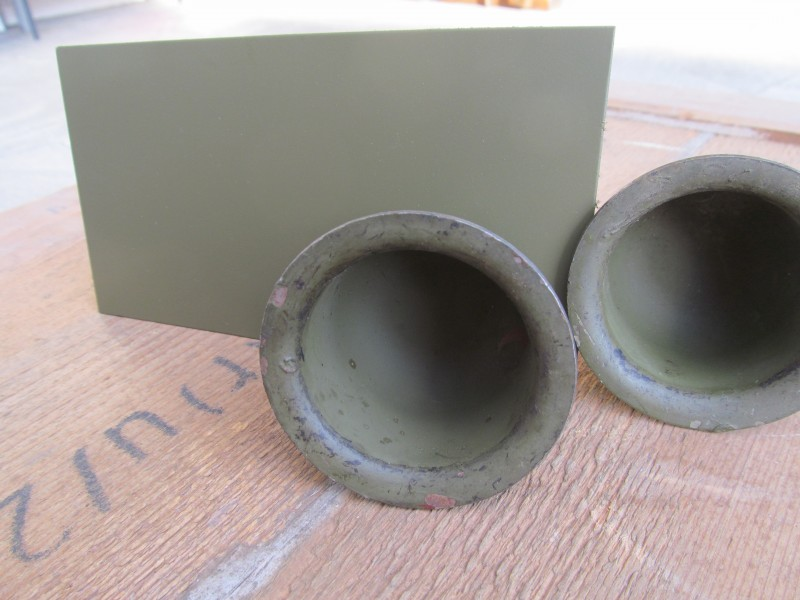 WW2 US Army Olive Drab Matt1 - 1941 - 45 - Farbe - 1 kg - Matt1 - Mat1 - Augum-Originals